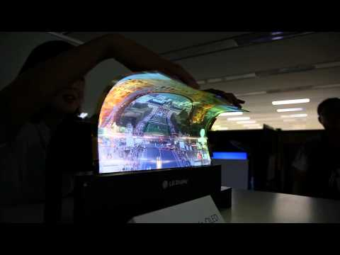 New OLED Flexible TV's - The Future Of Television