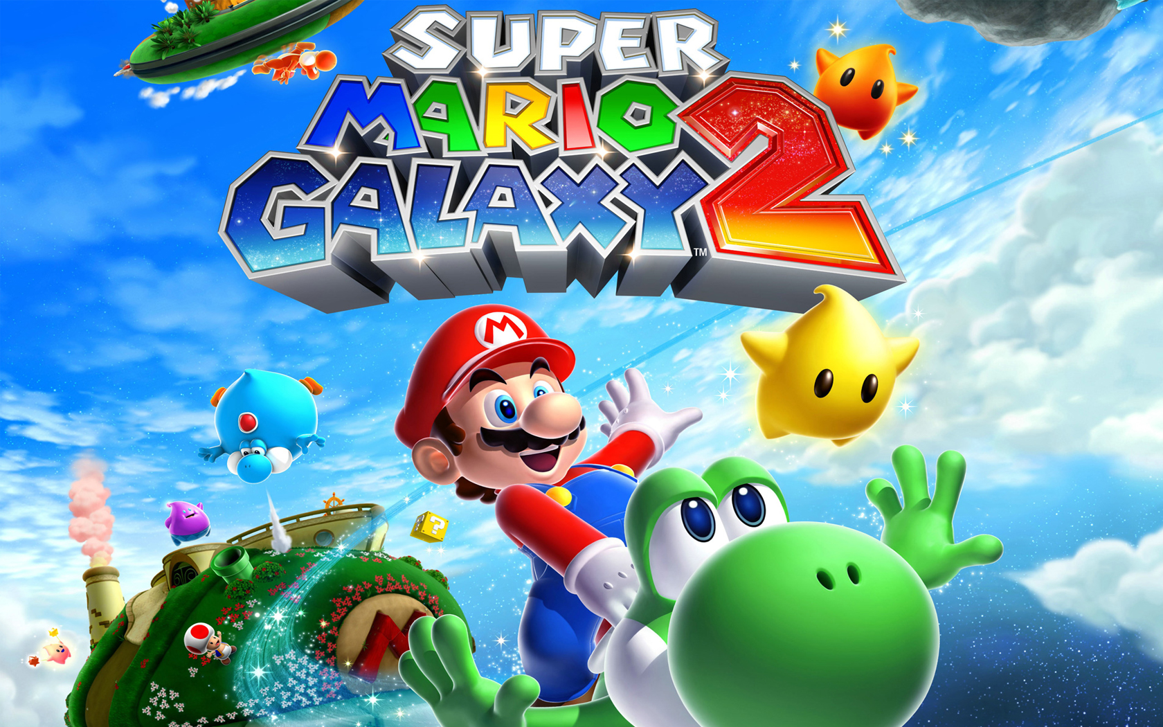 Super Mario Galaxy 2 Walkthrough (Nintendo Wii)