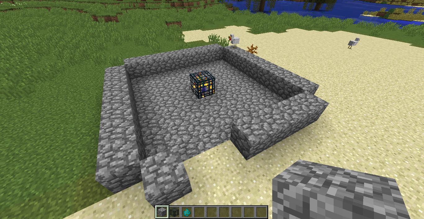 Minecraft Mob Spawner Xp Farm Tutorial